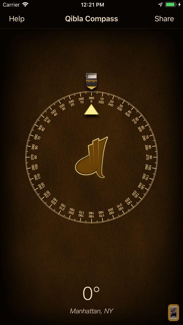 Screenshot - iSalam: Qibla Compass