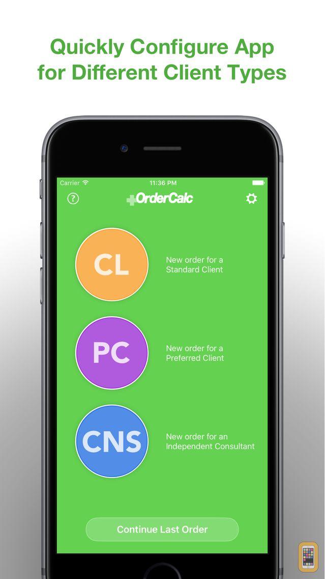 Screenshot - Order Calculator