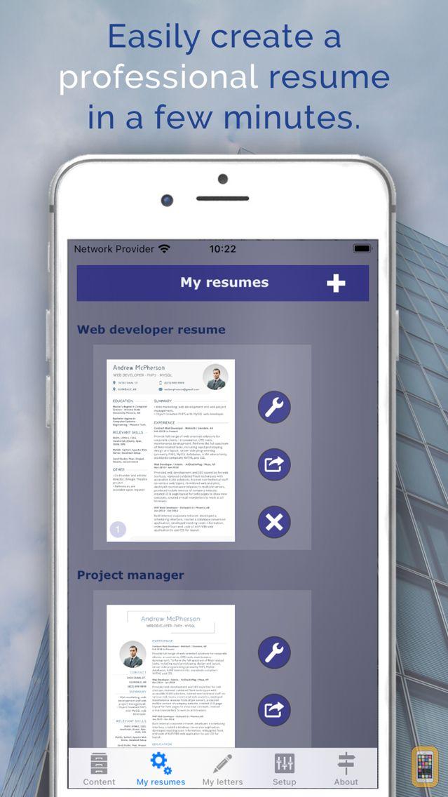 Screenshot - giga-cv Your resume