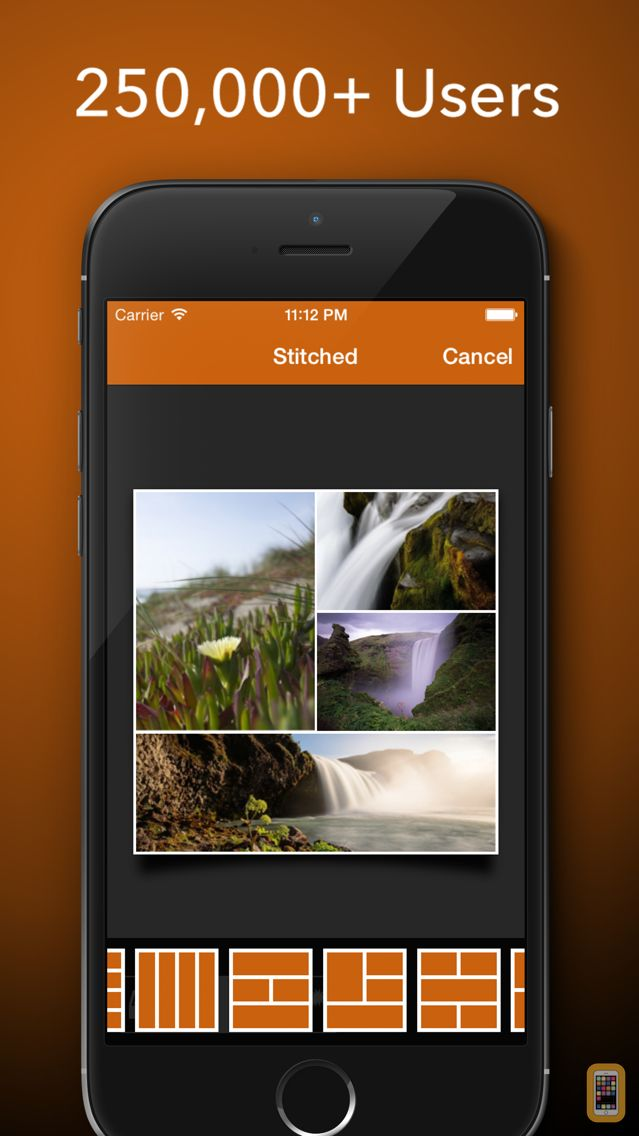 Screenshot - Stitched - Stitch Your Photo To Create Stunning Collages To Share on Facebook, Twitter and Instagram