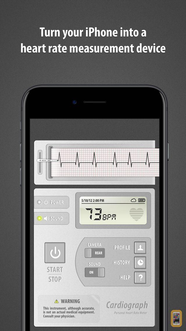 Screenshot - Cardiograph Classic