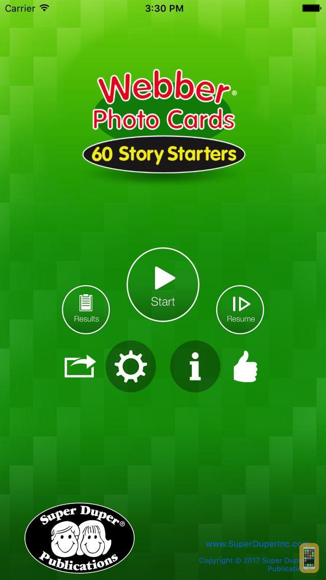 Screenshot - 60 Story Starters