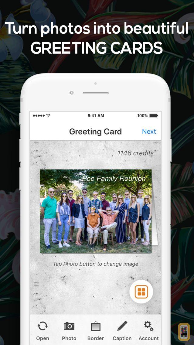Screenshot - SnapShot Greeting Card