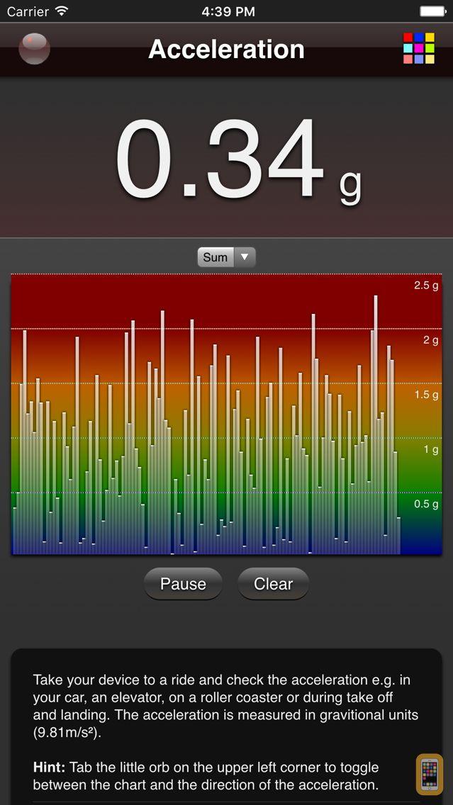 Screenshot - Acceleration