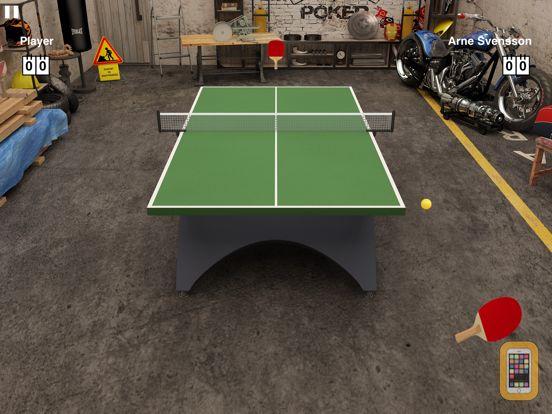 Screenshot - Virtual Table Tennis HD