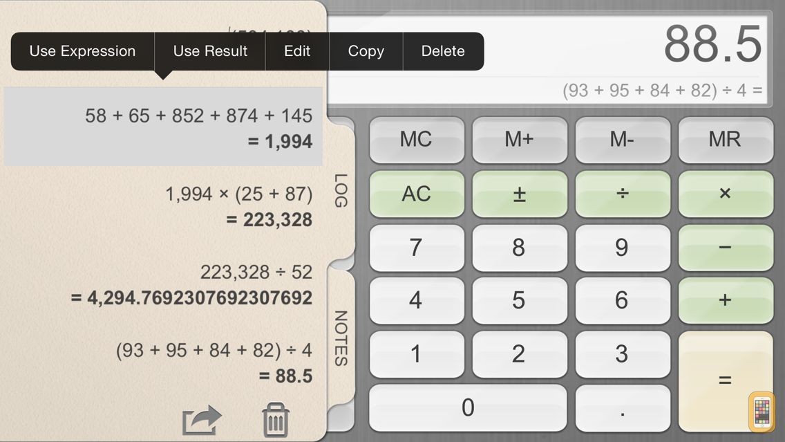 Screenshot - Calculator for iPad!