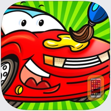 Color Mix n' Paint - Vehicles by A+ Kids Apps & Educational Games, LLC (iPad)