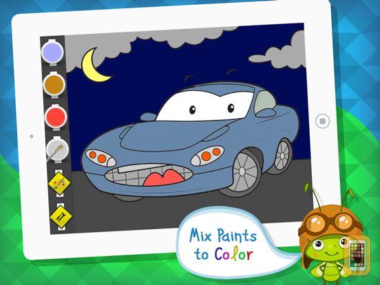 Screenshot - Color Mix n' Paint - Vehicles