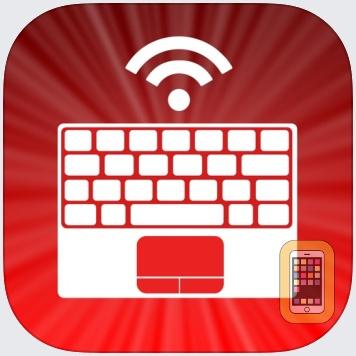 Air Keyboard: remote touch pad and custom keyboard by Alexey Filatov (iPad)