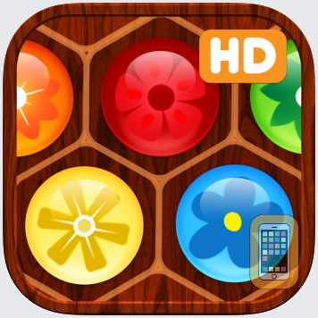 Flower Board HD - A fun & addictive line puzzle game (brain relaxing games) by Tue Nguyen Minh (iPad)