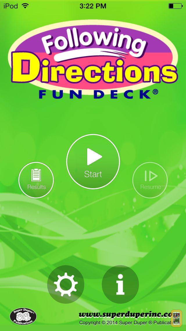 Screenshot - Fun Deck® Following Directions