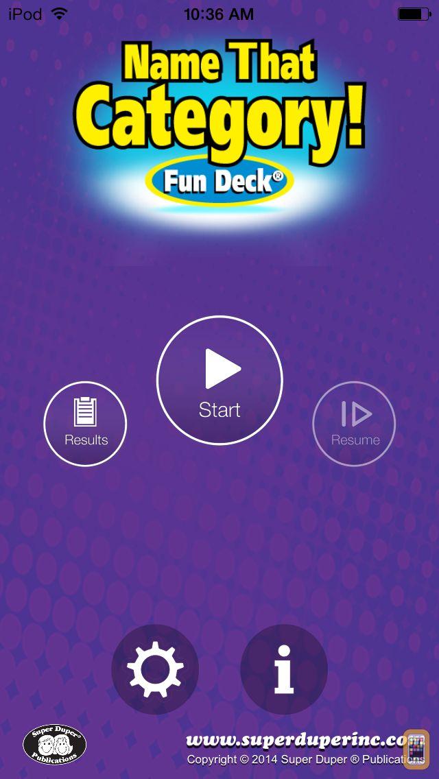 Screenshot - Name That Category Fun Deck