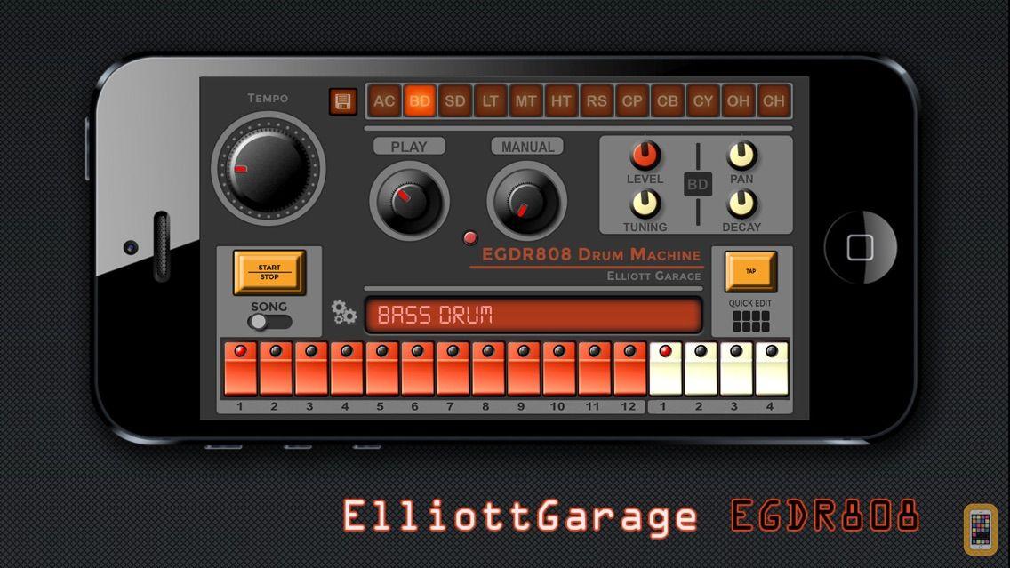 Screenshot - EGDR808 Drum Machine HD