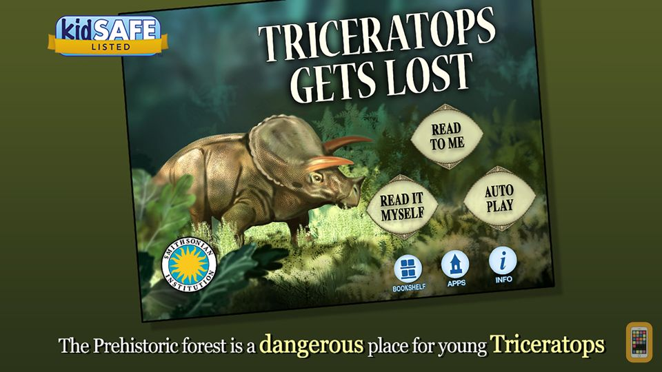 Screenshot - Triceratops Gets Lost - Smithsonian's Prehistoric