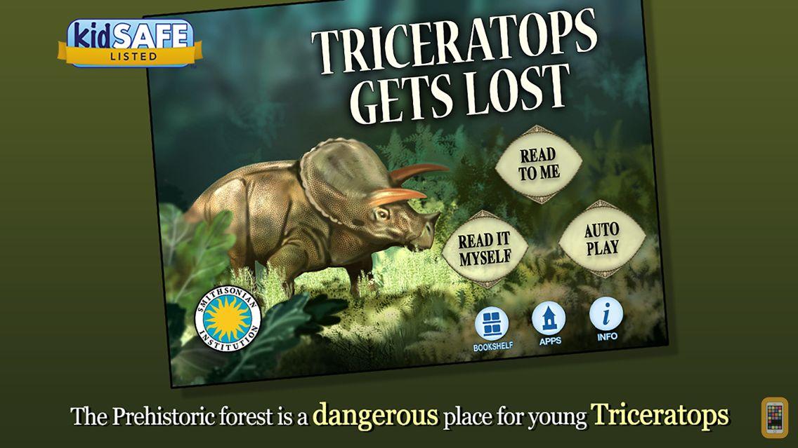 Screenshot - Triceratops Gets Lost - Smithsonian's Prehistoric