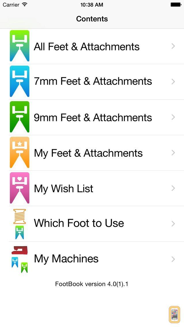 Screenshot - FootBook