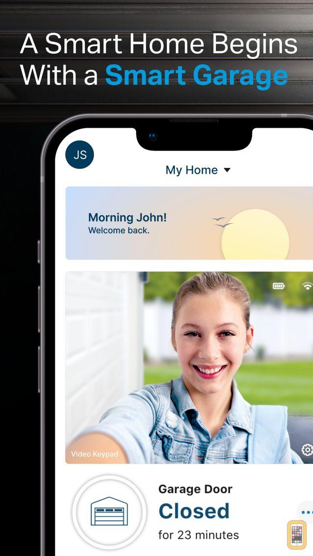 Screenshot - myQ Garage & Access Control