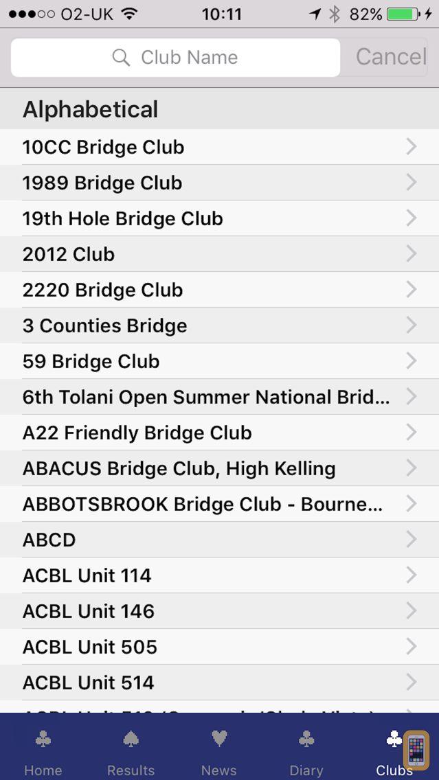 Screenshot - Bridgewebs