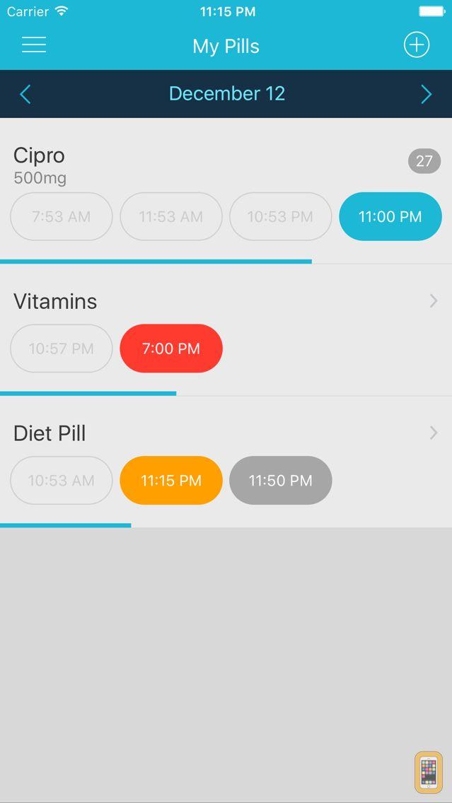 Screenshot - Easy Pill - medication tracker
