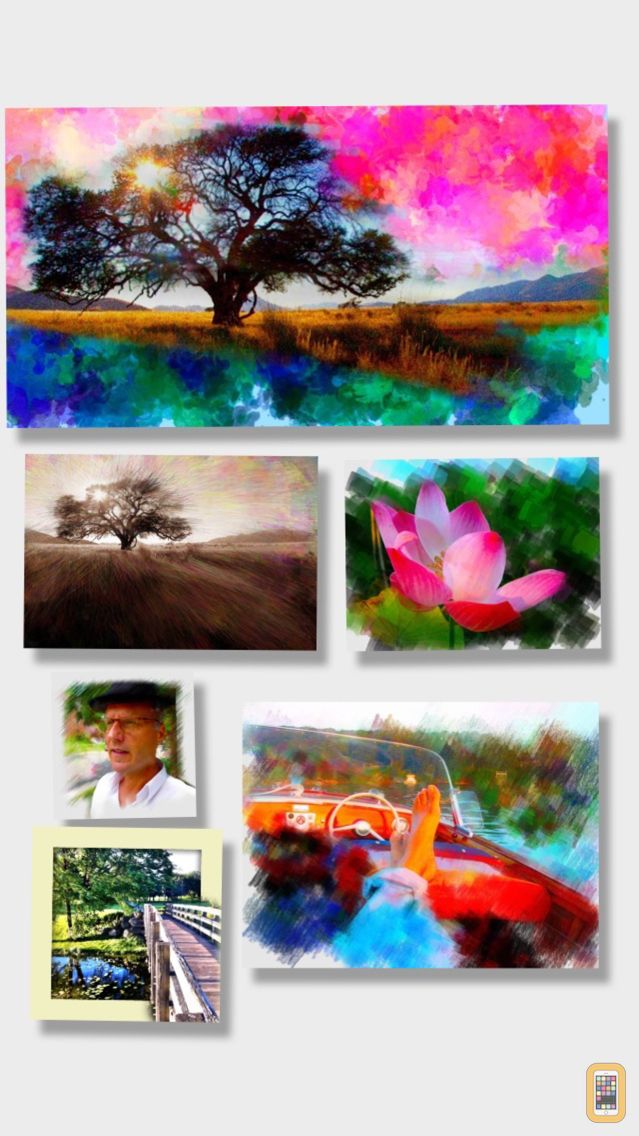 Screenshot - PhotoViva - Paintings from your photos!