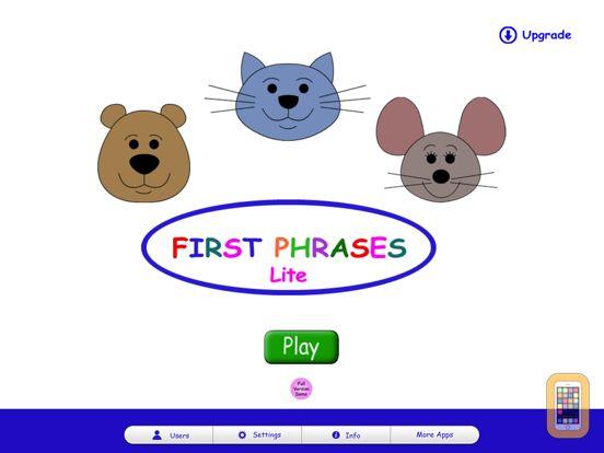 Screenshot - First Phrases HD Lite
