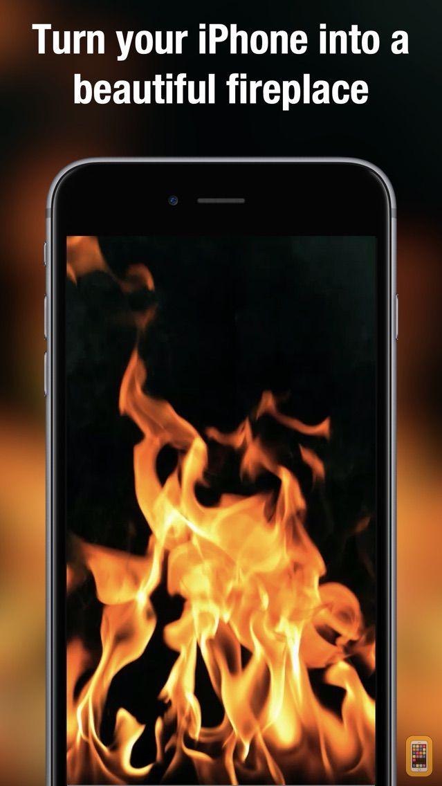 Screenshot - Fireplace Live HD pro