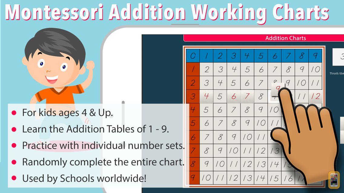 Screenshot - Montessori Addition Charts