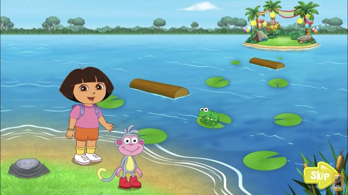 Screenshot - Dora ABCs Vol 3: Reading
