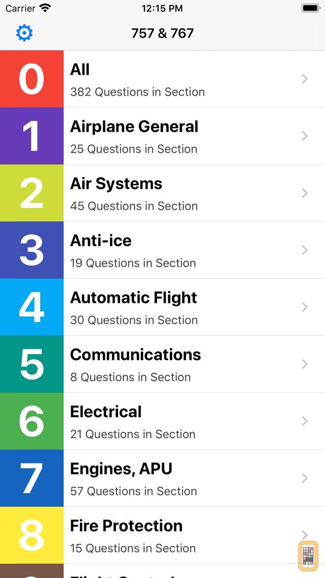 Screenshot - B757 / 767 Exam Questions