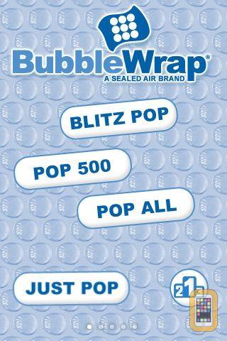 Screenshot - Bubble Wrap FREE