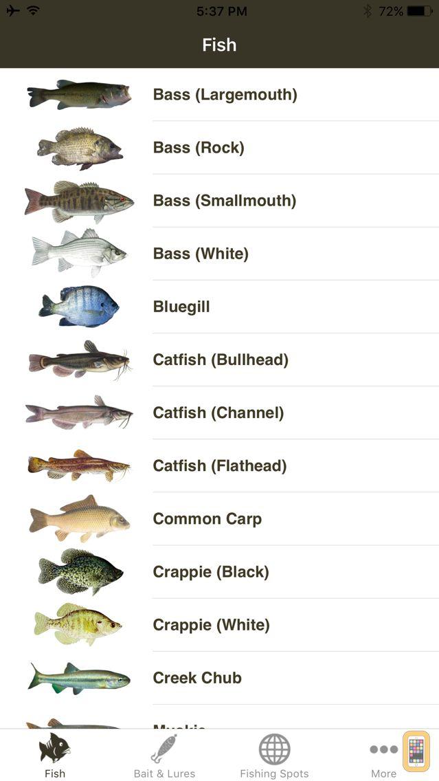 Screenshot - Freshwater Fishing Guide