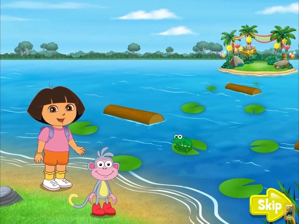Screenshot - Dora ABCs Vol 3: Reading HD
