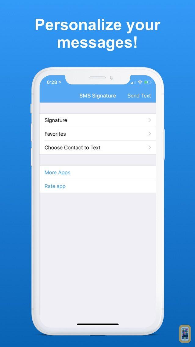 Screenshot - SMS Signature+