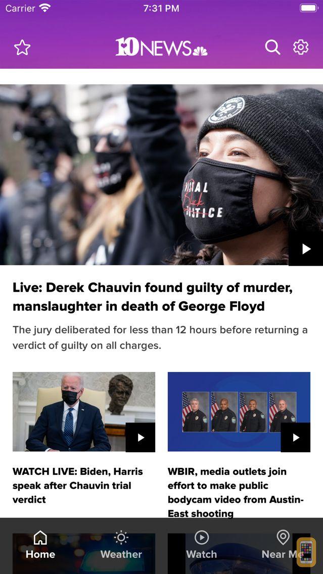 Screenshot - Knoxville News from WBIR