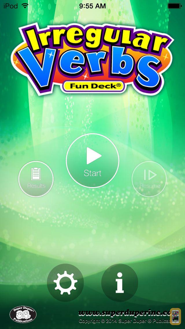 Screenshot - Irregular Verbs Fun Deck