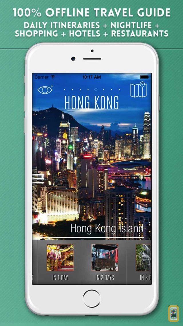 Screenshot - Hong Kong Travel Guide with Metro Map and GPS