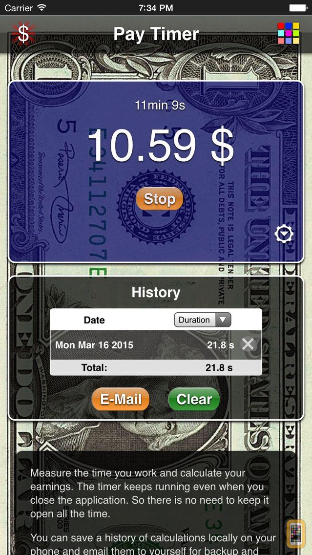 Screenshot - Pay Timer