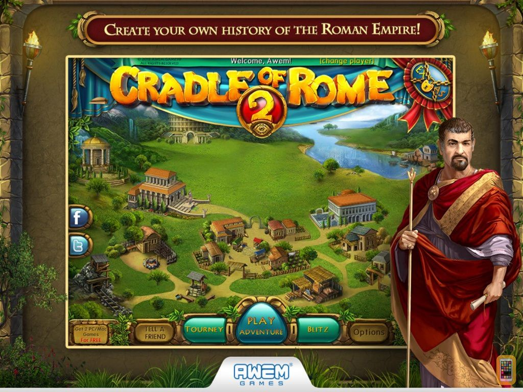 Screenshot - Cradle of Rome 2 HD