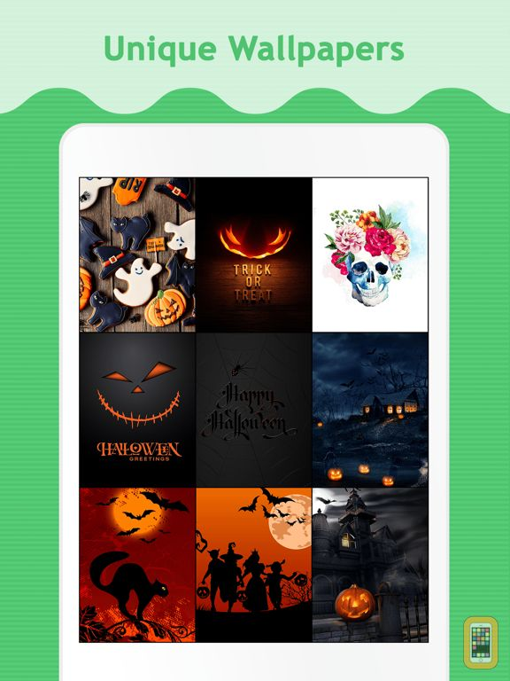 Screenshot - Halloween Wallpapers for iPad.