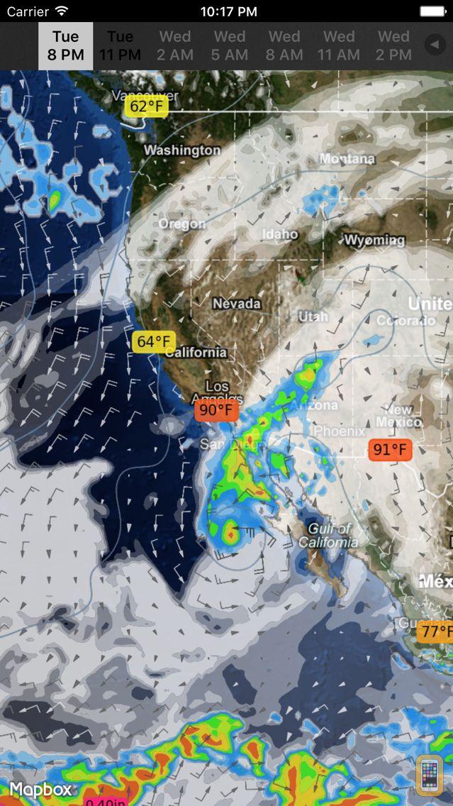 Screenshot - WeatherMap+