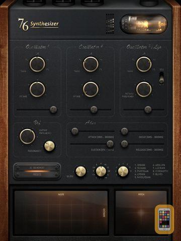 Screenshot - 76 Synthesizer