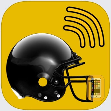 Pittsburgh Football Radio & Live Scores by Red Ripe Media, LLC (Universal)