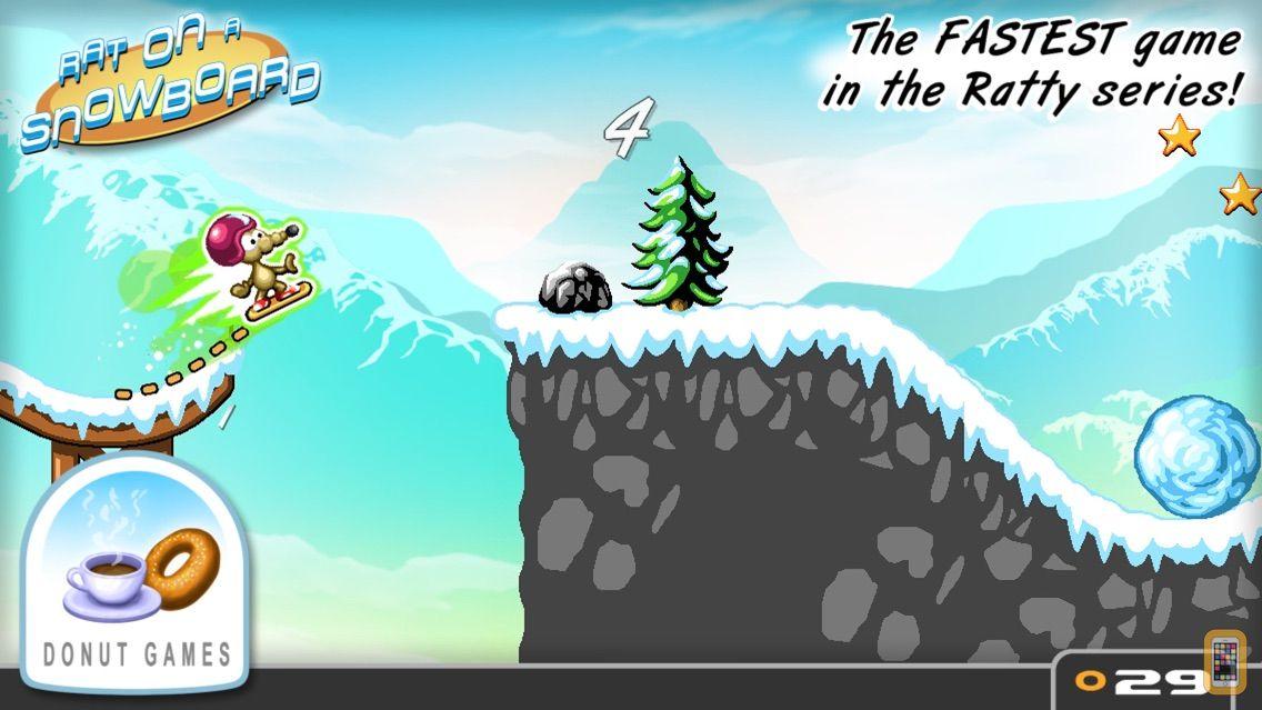 Screenshot - Rat On A Snowboard