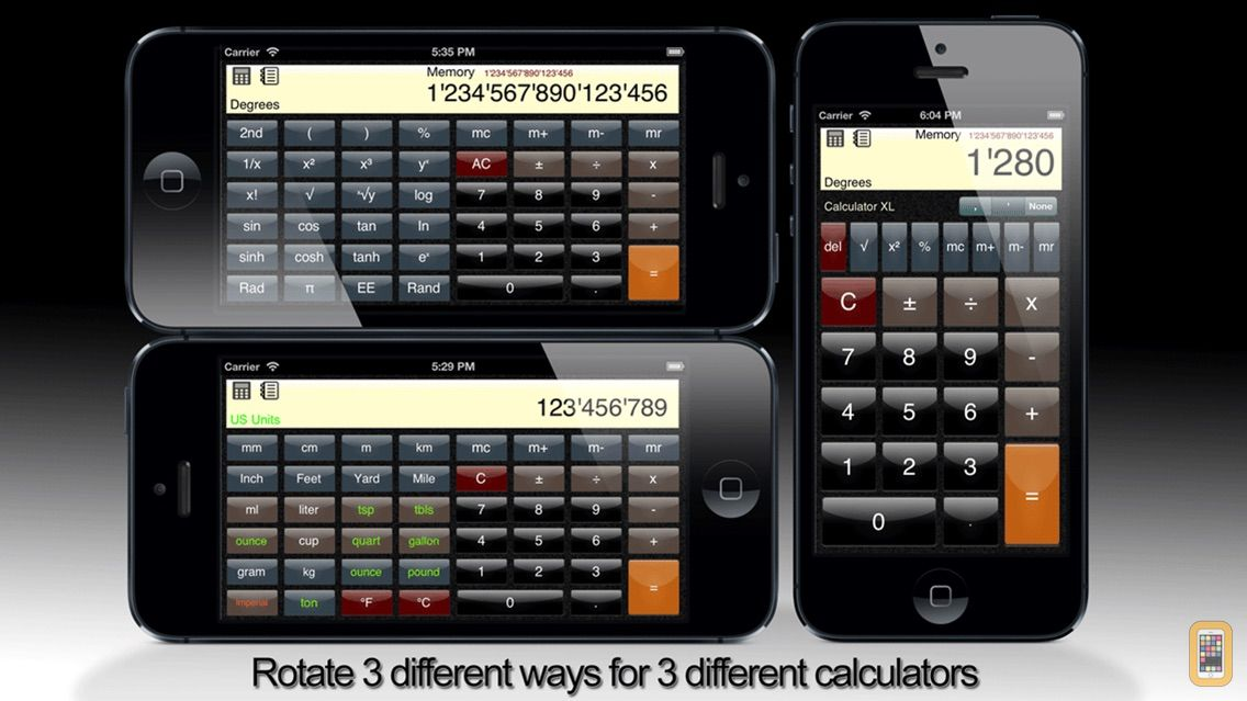 Screenshot - Calculator XL - Standard Scientific Unit Converter