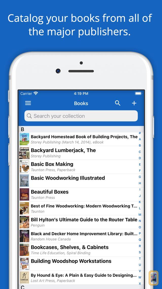 Screenshot - Book List Library ISBN Scanner