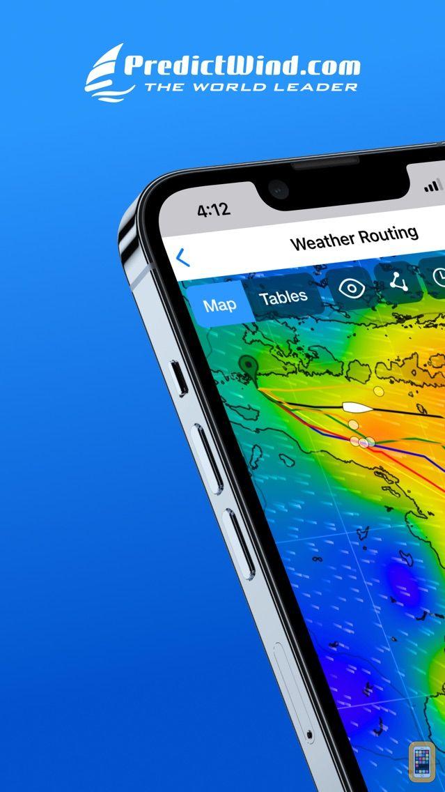 Screenshot - PredictWind — Marine Forecasts
