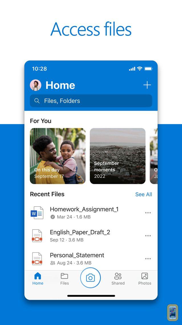 Screenshot - Microsoft OneDrive