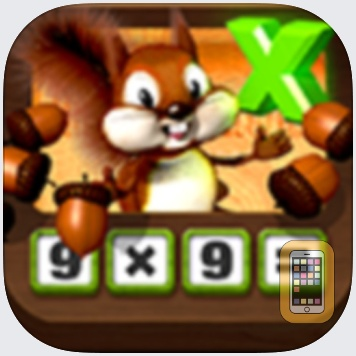 Multiplying Acorns HD - Tasty Math Facts by Marcel Widarto (iPad)