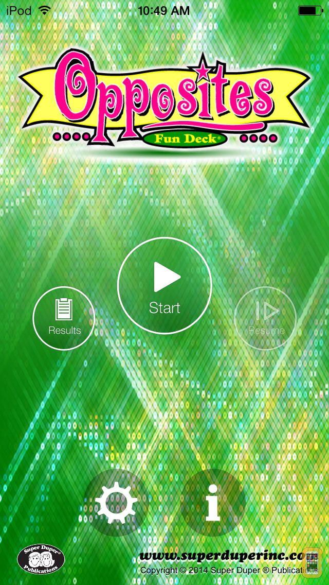 Screenshot - Opposites Fun Deck