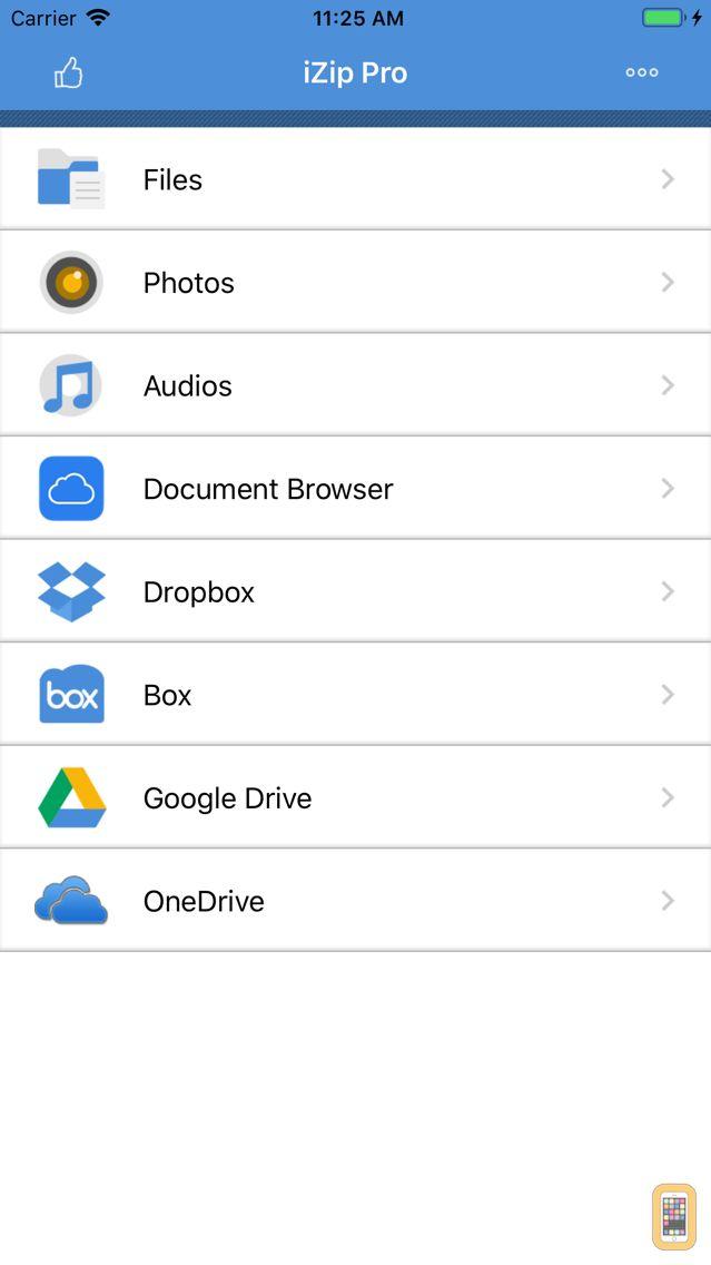 Screenshot - iZip Pro -Zip Unzip Unrar Tool
